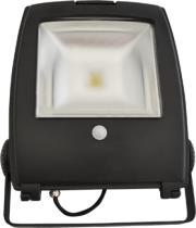 v tac vt 4450pir 50w led floodlight design with sensor graphite body cold white photo