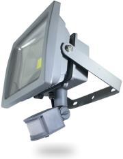v tac 5387 30w led floodlight sensor premium reflector white photo