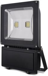 forever eco home line ip65 led fixture outdoor floodlight 100w cold white 6500k photo