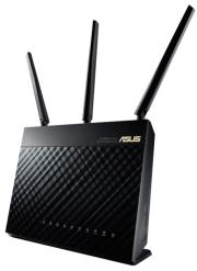 asus rt ac68u dual band wireless ac1900 gigabit router photo