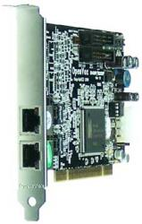 openvox b200p 2 port isdn bri pci card with built in power asterisk ready photo
