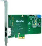 openvox d230e 2 port t1 e1 j1 pri pci e card photo
