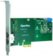 openvox de230e 2 port t1 e1 j1 pri pci e card ec2064 module photo