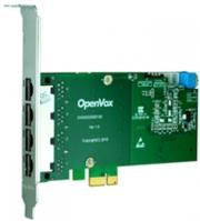 openvox de430e 4 port t1 e1 j1 pri pci e card ec2128 module photo
