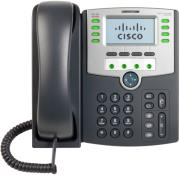 cisco spa509g 12 line ip phone with 2 port switch poe and lcd display photo