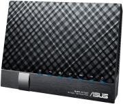 asus dsl n17u wireless n300 gigabit adsl vdsl pstn isdn modem router photo