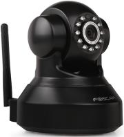 foscam fi9816p indoor 720p megapixel pan tilt wireless p2p ip camera black photo