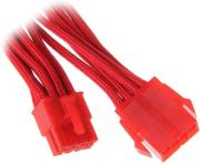 bitfenix 8 pin eps12v extension 45cm sleeved red red photo
