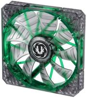 bitfenix spectre pro 140mm fan green led black photo