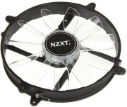 nzxt fz 200 airflow fan series white led 200mm photo