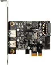 silverstone sst ec04 e pcie card for 2 int ext usb30 ports photo