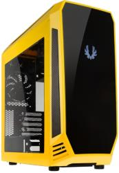 case bitfenix aegis micro atx yellow black photo