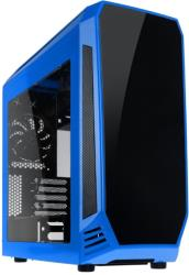 case bitfenix aegis core micro atx blue black photo
