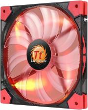 thermaltake luna 14 slim led red 140mm photo