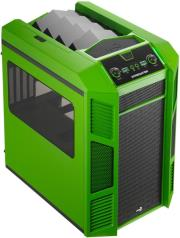 case aerocool xpredator cube micro atx black green photo