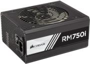 psu corsair rmi series rm750i 750w 80 plus gold certified fully modular photo