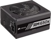psu corsair rmx series rm650x 650w 80 plus gold certified fully modular photo