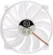 thermaltake case fan pure 20 led white 200mm 800 rpm box photo