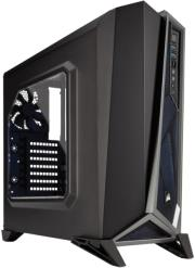 case corsair carbide series spec alpha mid tower gaming black silver photo