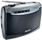 philips ae2160 00c portable radio black silver photo