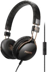 philips shl5505bk 00 headband headphones with mic foldie on ear black photo