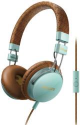 philips shl5505gb 00 headband headphones with mic foldie on ear brown photo