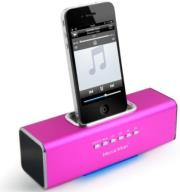 technaxx musicman docking soundstation pink photo