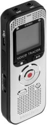 philips dvt20050 4gb voice tracer digital recorder silver black photo