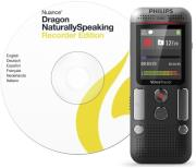 philips dvt2710 8gb voice tracer audio recorder speech to text photo