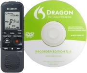sony icd px333d 4gb digital voice recorder dragon software photo
