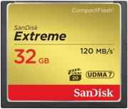 sandisk sdcfxs 032g x46 extreme 32gb compact flash udma 7 memory card photo