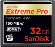 sandisk sdcfxps 032g x46 extreme pro 32gb compact flash udma 7 memory card photo
