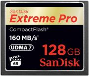 sandisk sdcfxps 128g x46 extreme pro 128gb compact flash udma 7 memory card photo