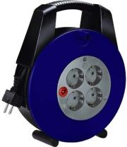 brennenstuhl vario line 4socket 10m blue black photo