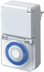 brennenstuhl 1506370 outdoor mechanical timer white photo