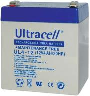 ultracell ul4 12 12v 4ah replacement battery photo