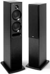 kef c5 floorstanding loudspeakers 150w black photo