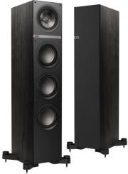kef q500 floorstanding speakers 130w black photo