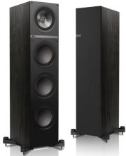 kef q700 floorstanding speakers 150w black photo