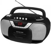 sencor spt 207 radio cassette cd player black photo