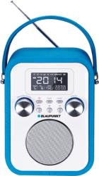 blaupunkt pp20bl portable mp3 player with radio sd usb aux in blue photo