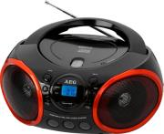 aeg sr 4352 radio stereo with cd mp3 black photo