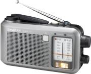 sangean mmr 77 handcrank emergency pocket radio grey photo