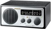 sangean wr 1 fm am wooden cabinet receiver silver photo