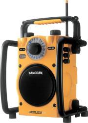 sangean u1 fm am ultra rugged water resistant radio receiver yellow photo