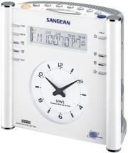 sangean rcr 3 fm rds rbds am aux in tuning clock radio with radio controlled clock white photo