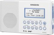 sangean h 203 dab fm rds waterproof radio white photo