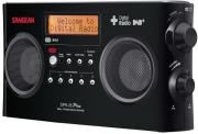 sangean dpr 25 dab fm rds digital radio stereo receiver black photo