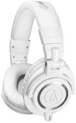 audio technica ath m50xwh pro studio monitor headphones white photo