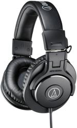 audio technica ath m30x pro headphones black photo